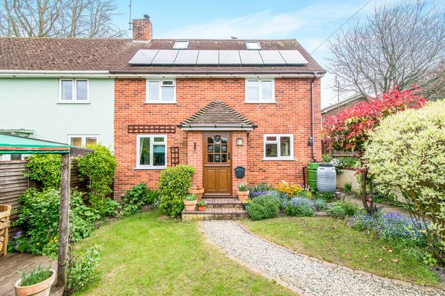 Thumbnail Semi-detached house for sale in The Crescent, Hurstbourne Tarrant, Andover