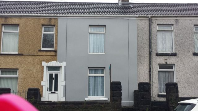 Thumbnail Terraced house to rent in Jersey Road, Bonymaen
