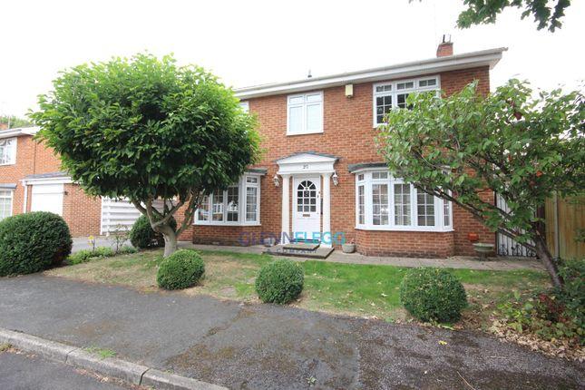 Thumbnail Detached house to rent in Harwood Gardens, Old Windsor, Windsor