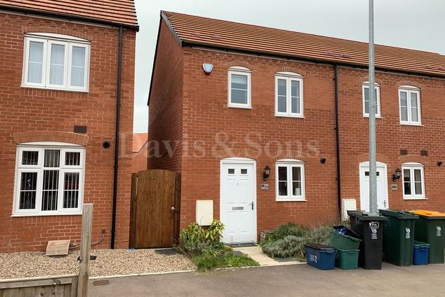 Thumbnail Semi-detached house to rent in Lysaght Avenue, Newport, Gwent.