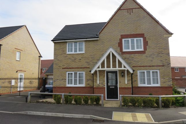 Thumbnail Detached house for sale in Hillary Close, Corby