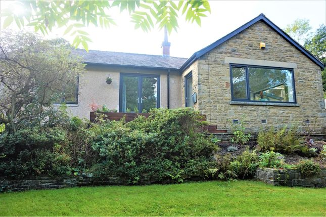Thumbnail Detached bungalow for sale in Halifax Road, Triangle, Sowerby Bridge