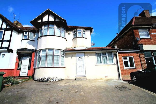 Thumbnail 5 bed end terrace house for sale in Headstone Gardens, Harrow