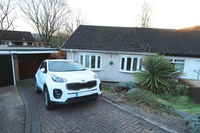 Thumbnail Semi-detached bungalow for sale in Plane Tree Close, Caerleon, Newport