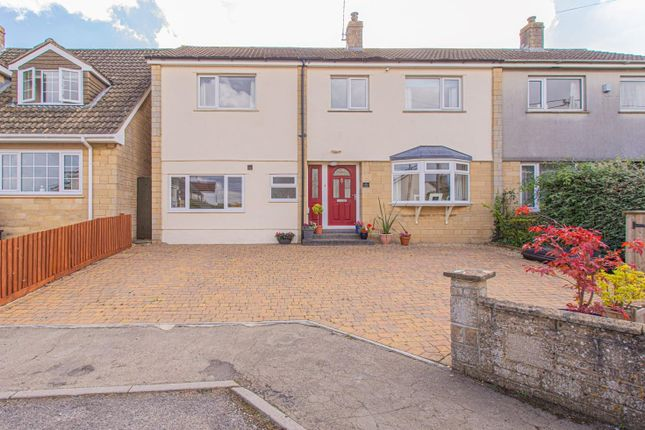 Thumbnail Semi-detached house for sale in Newtown, Hullavington, Chippenham