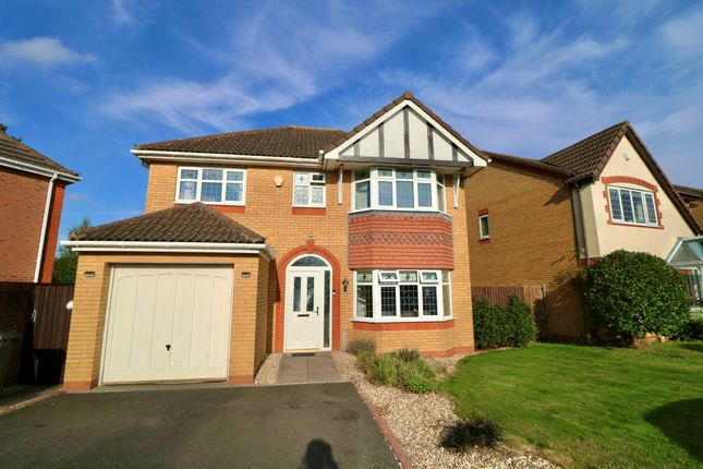 Thumbnail Detached house for sale in Stockley Crescent, Shirley, Solihull
