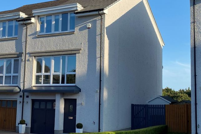 Thumbnail 3 bed semi-detached house to rent in Woodlands Walk, Cults, Aberdeen