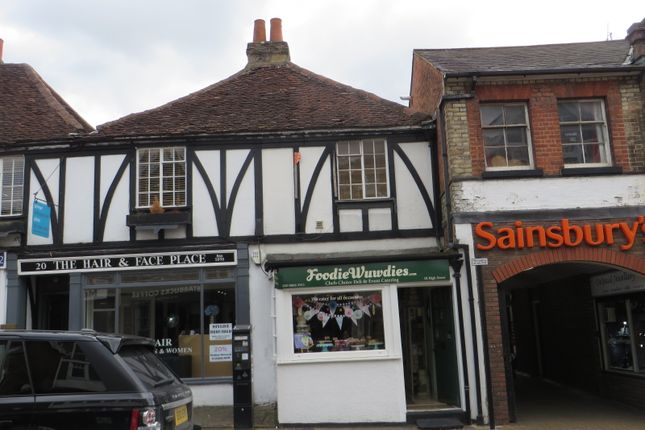 Thumbnail Retail premises for sale in High Street, Pinner