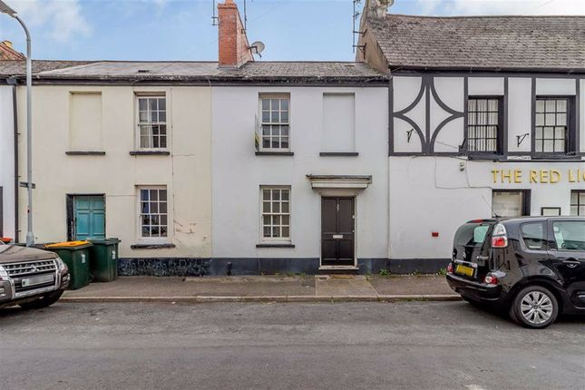 Thumbnail Terraced house for sale in Backhall Street, Caerleon, Gwent