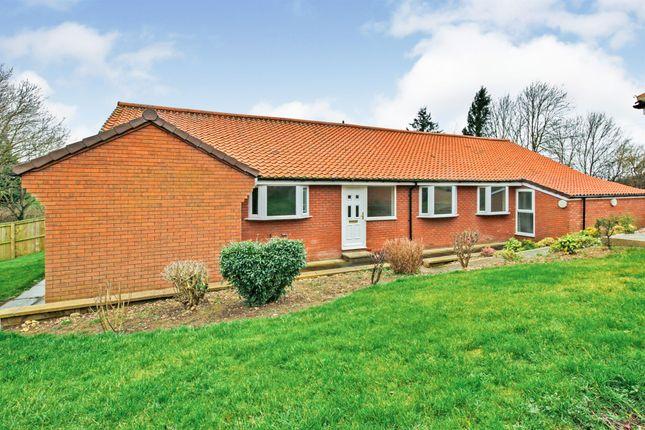 Thumbnail Detached bungalow for sale in Wynyard Road, Wolviston, Billingham