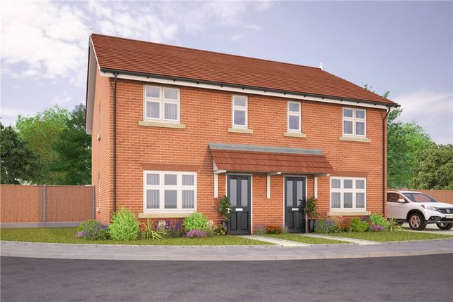 Thumbnail Semi-detached house for sale in Dyrham Place, Oakham, Rutland