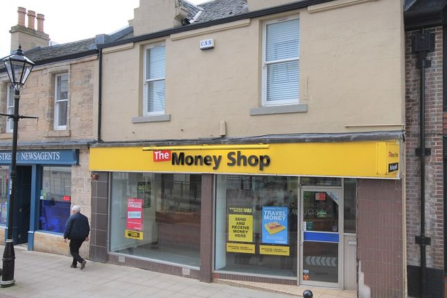 Thumbnail Retail premises to let in High Street, Falkirk