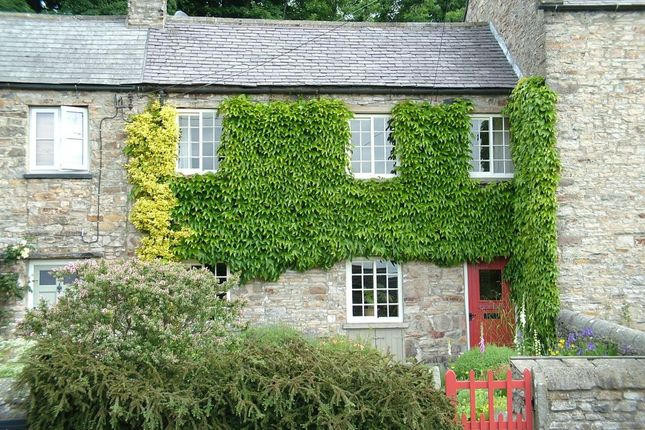 Thumbnail Terraced house for sale in Preston Under Scar, Leyburn, North Yorkshire