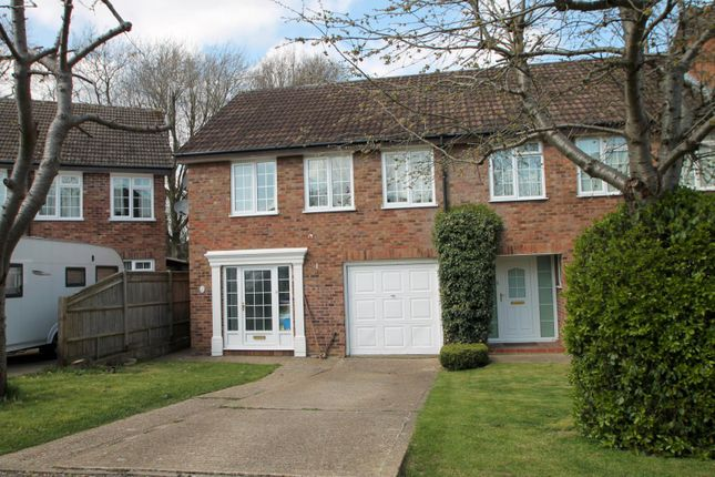 Thumbnail End terrace house to rent in Harmans Mead, East Grinstead