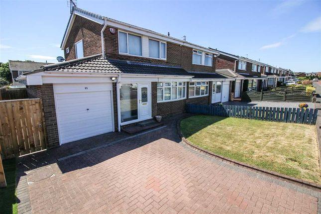 Thumbnail Semi-detached house to rent in Ashkirk, Dudley, Cramlington