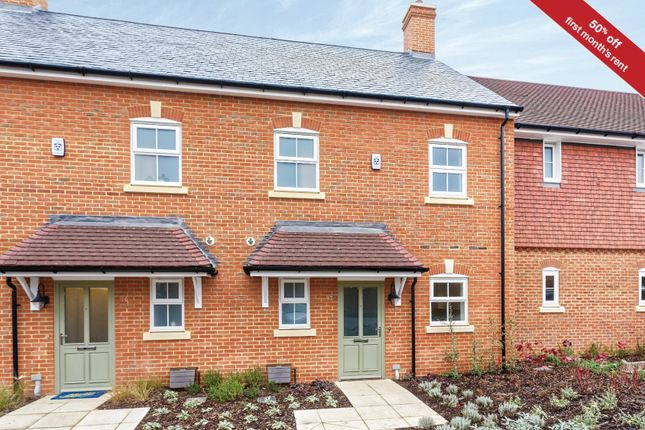 Thumbnail Terraced house to rent in Charlock Place, Woodhurst Park, Warfield