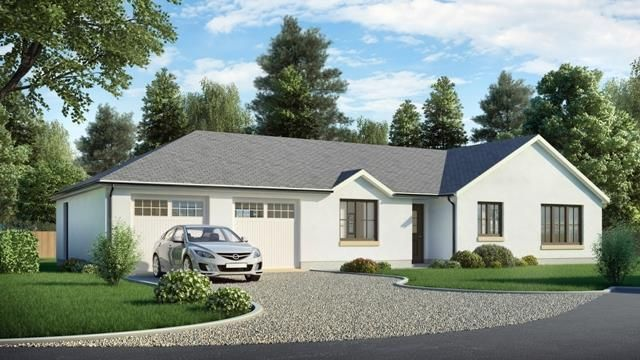 Thumbnail Detached bungalow for sale in Morningside, Rosemount Mews, Brucefield Road, Blairgowrie