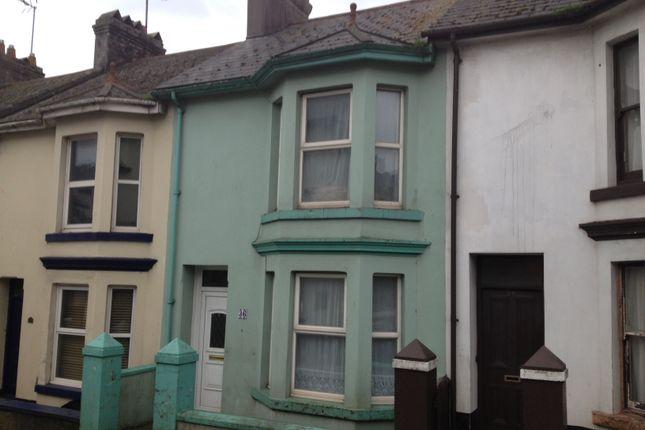 Thumbnail Terraced house to rent in Burton Street, Brixham