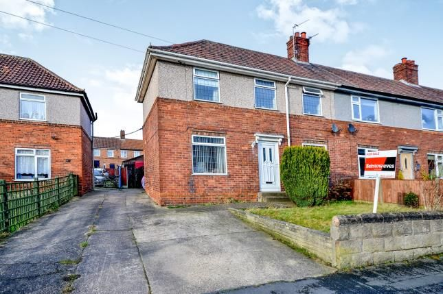 Thumbnail End terrace house for sale in Harlow Street, Mansfield, Nottinghamshire