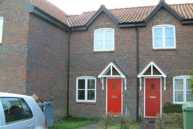 Thumbnail Terraced house to rent in Springfield, Acle, Norwich