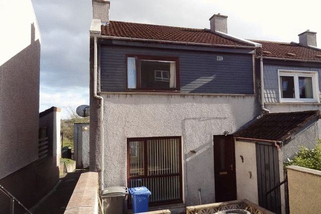 Thumbnail End terrace house to rent in Viewbank, Leslie, Fife