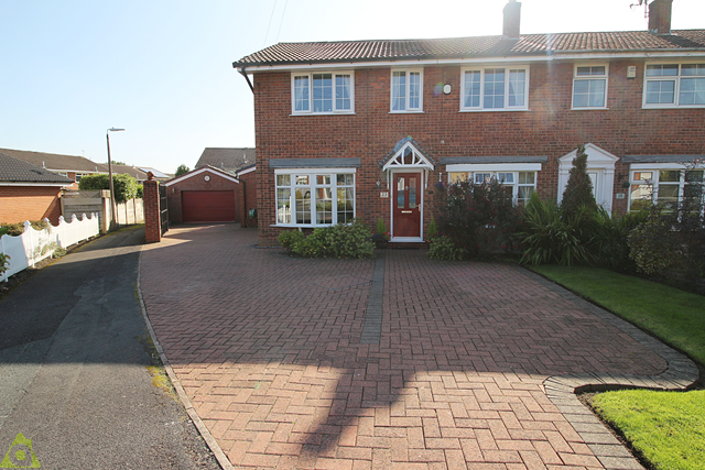 Thumbnail Semi-detached house for sale in Roscoes Court, Westhoughton