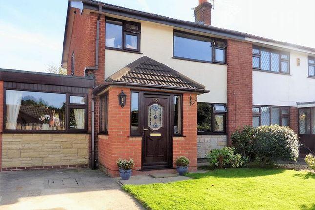 Thumbnail Semi-detached house for sale in 15 Glencroft, Euxton