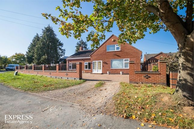 Thumbnail Detached bungalow for sale in Eastfield Road, Thurmaston, Leicester