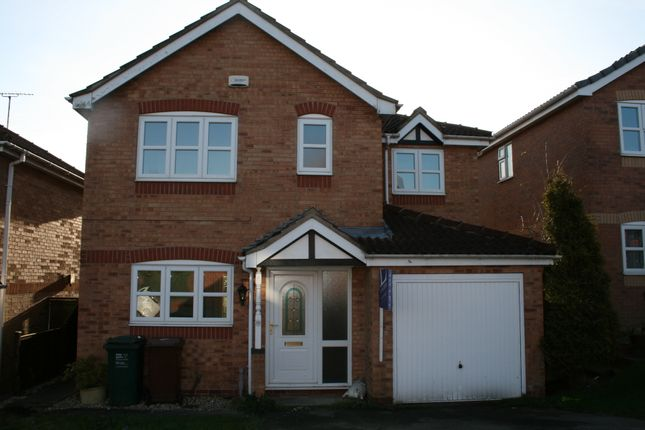 Thumbnail Detached house to rent in Sorrel Drive, Woodville, Swadlincote