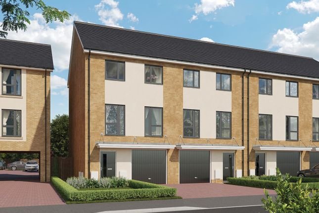 Thumbnail Town house for sale in Thorpe Road, Longthorpe, Peterborough