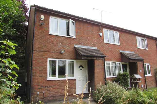 Thumbnail End terrace house to rent in Fensome Drive, Houghton Regis, Dunstable