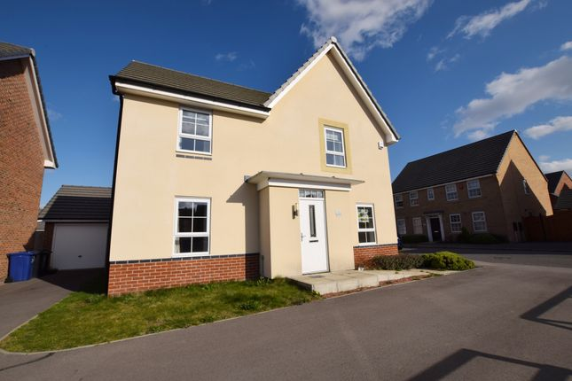 Thumbnail Detached house for sale in Moat Drive, Auckley, Doncaster