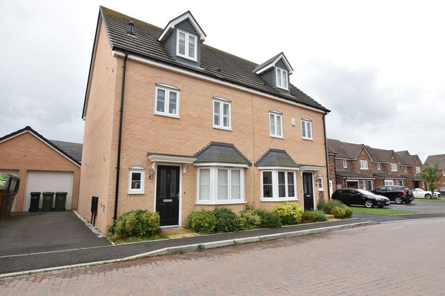 Thumbnail Semi-detached house for sale in The Mews, Evesham