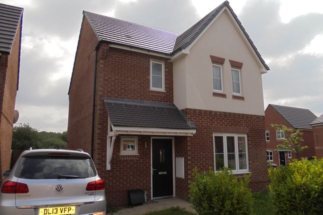 Thumbnail Detached house to rent in Sandiacre Avenue, Brindley Village, Stoke On Trent, Staffordshire