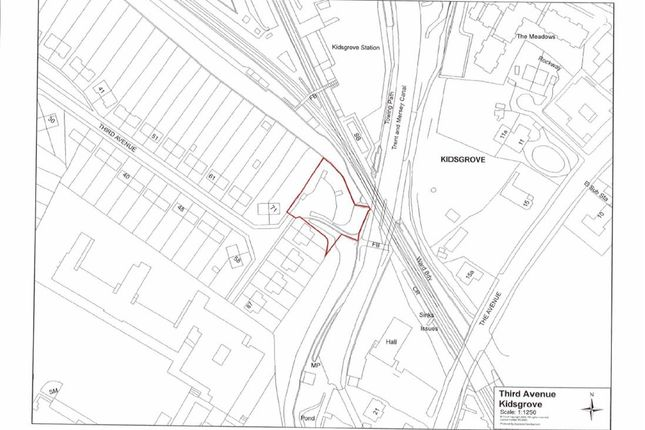 Land for sale in Third Avenue, Kidsgrove, Stoke-On-Trent