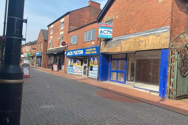 Thumbnail Retail premises to let in Oxford Street, Ripley
