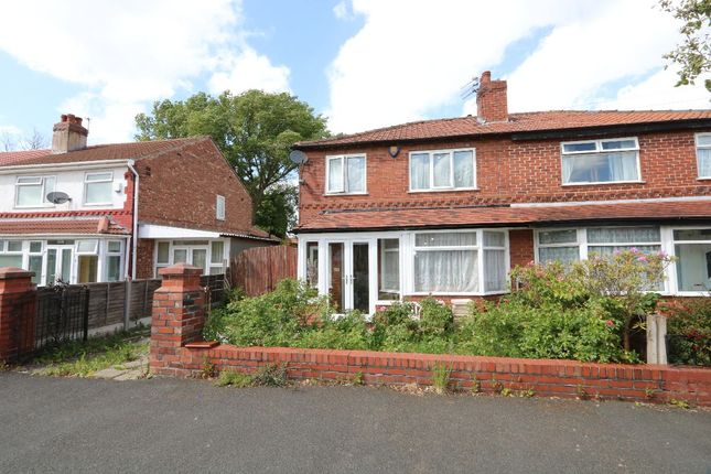 Thumbnail Semi-detached house to rent in Manley Road, Chorlton Cum Hardy, Manchester