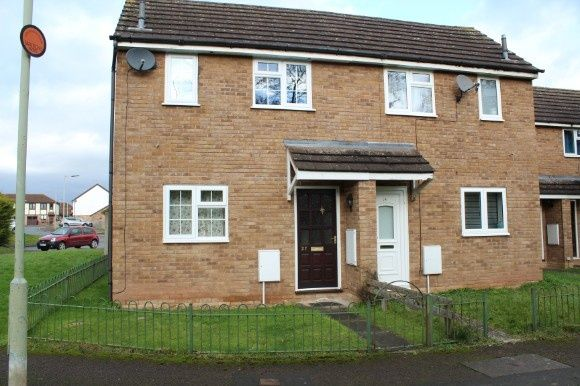 Thumbnail End terrace house to rent in Holmfirth Close, Belmont, Hereford