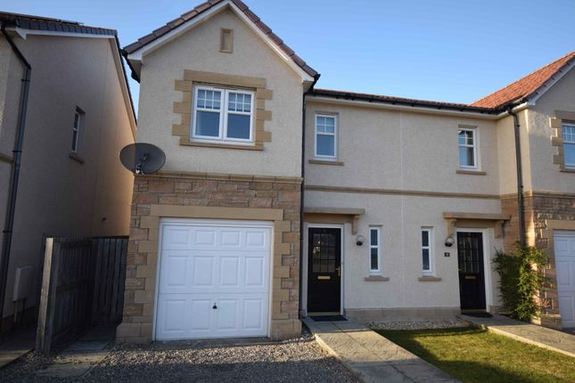 Thumbnail Semi-detached house to rent in Admirals Way, Westhill, Inverness, Highland