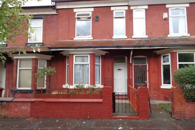 Thumbnail Terraced house to rent in Gill Street, Blackley, Manchester
