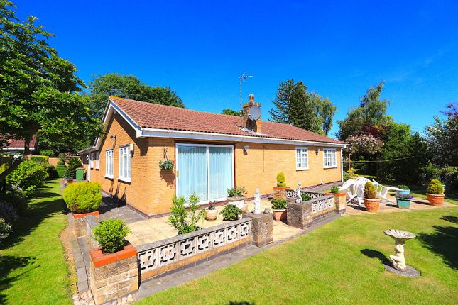 Thumbnail Detached bungalow for sale in St. Davids Close, Leicester Forest East, Leicester