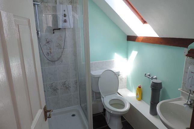 Shower Room of Flat C Brooke House, Brooke Avenue, Milford Haven SA73