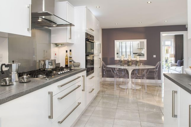 """Thumbnail Semi-detached house for sale in """"Ashurst"""" at Blackberry Walk, London Road, Cirencester"""