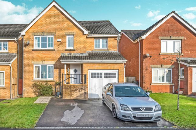 Thumbnail Detached house for sale in Crymlyn Parc, Skewen, Neath