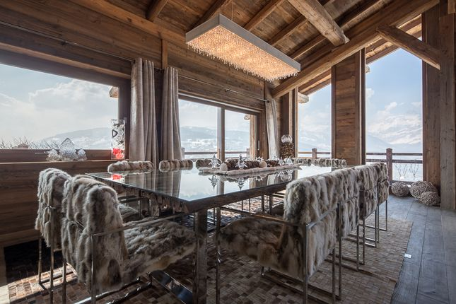 Dining Room of Megeve, Rhones Alps, France