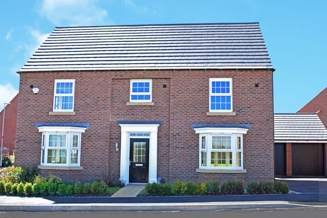 "Thumbnail Detached house for sale in ""Henley"" at Welbeck Avenue, Burbage, Hinckley"