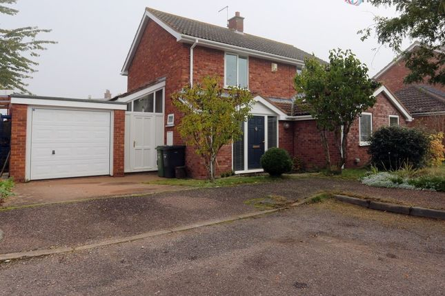 Thumbnail Detached house for sale in Church Close, Stoke St Gregory, Taunton, Somerset