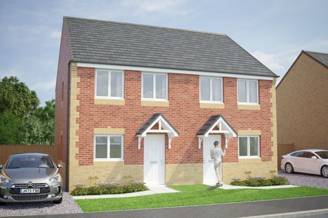 Thumbnail Semi-detached house for sale in The Tyrone, Shieldrow Park, Shieldrow Lane, New Kyo, Stanley, County Durham