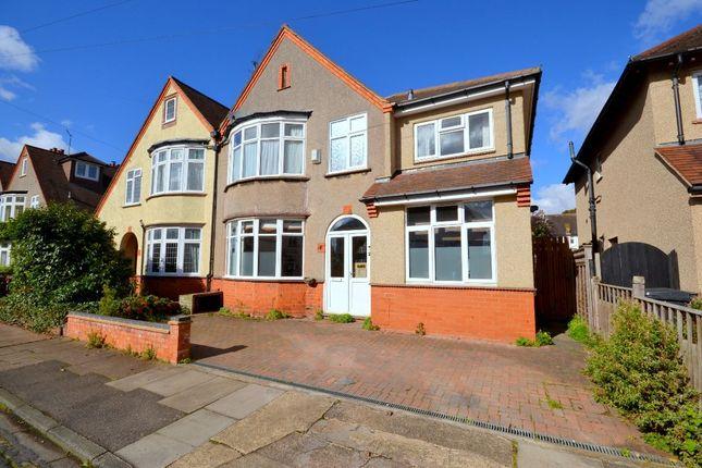 Thumbnail Semi-detached house for sale in Rushmere Avenue, Abington, Northampton