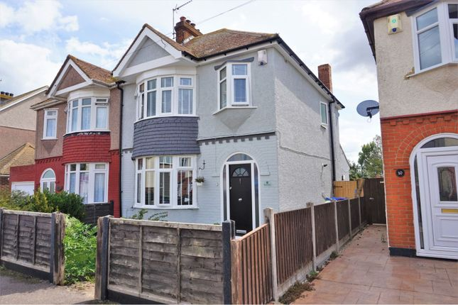 Thumbnail Semi-detached house for sale in Beckley Road, Sheerness